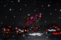 黑星期五摘要照片 愉快的圣诞快乐 免版税图库摄影