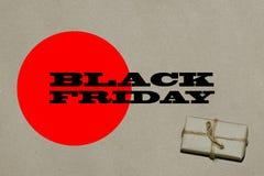 黑星期五热的销售 题字是在工艺的黑星期五 库存图片