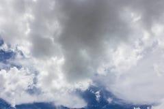 黑暗云彩形成 图库摄影