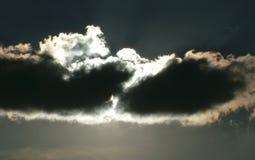 黑暗的云彩 图库摄影