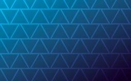黑暗的几何背景三角蓝色 库存例证