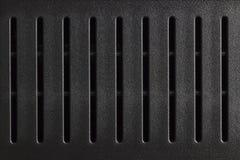 黑暗的塑料线纹理  免版税库存照片