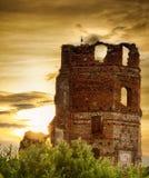 黑暗的塔 免版税库存照片