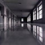 黑暗的大厅 免版税库存照片