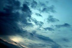 黑暗的天空 免版税图库摄影