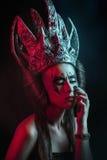 黑暗的女王/王后 免版税库存图片
