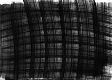 黑暗的手画水彩背景 免版税库存图片