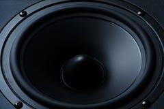 黑暗的报告人,扩音器,一部分的一个音乐专栏 库存照片