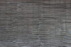 黑暗的木窗帘纹理 免版税库存照片