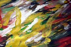 黑暗的桃红色红色金黄闪耀的背景,五颜六色的生动的蜡状的颜色,对比创造性的背景 免版税库存图片