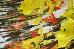黑暗的桃红色金黄闪耀的背景,五颜六色的生动的蜡状的颜色,对比创造性的背景 库存图片