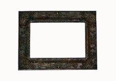 黑暗的框架照片正方形 免版税库存图片