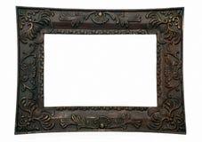 黑暗的框架照片 免版税库存照片