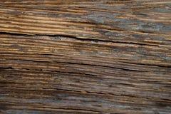 黑暗的水平的木纹理背景 免版税库存图片