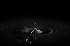 黑暗的水 库存图片