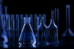 黑暗的科学 库存照片