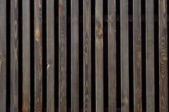 黑暗的织地不很细木背景 免版税库存照片