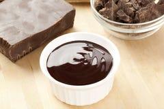 黑暗的美食的巧克力 库存照片