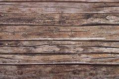 黑暗的老纹理木头 免版税库存图片