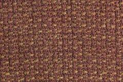 黑暗的肌力织品背景纹理 纺织材料特写镜头细节  免版税库存图片