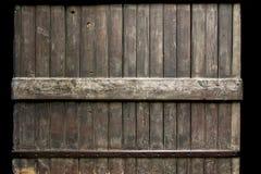 黑暗的范围木头 免版税库存照片