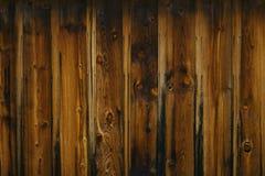 黑暗的谷物木头 库存图片