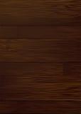 黑暗的谷物木头 免版税库存照片