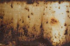 黑暗的铁锈 免版税库存图片