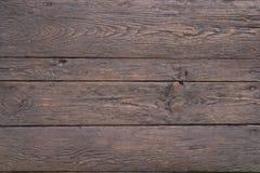 黑暗的高尚的老木头 库存图片