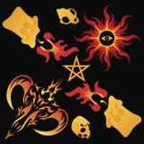 黑暗的魔术 免版税图库摄影