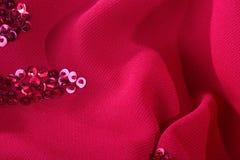 黑暗织品红色 库存图片
