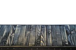 黑木架子或台式 免版税库存图片