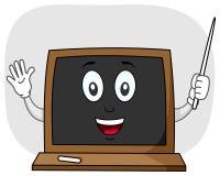 黑板教师字符 免版税库存图片