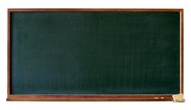 黑板空白保险开关绿色 图库摄影