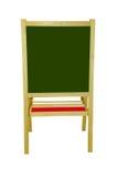 黑板空白木 免版税库存图片
