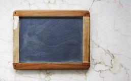 黑板空白 免版税库存图片