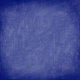 黑板蓝色黑板纹理 免版税库存图片