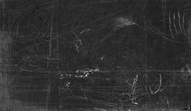 黑板被抓的表面 免版税库存照片