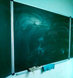 黑板 免版税图库摄影