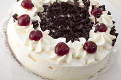 黑森林特制的糕饼 图库摄影