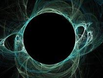 黑洞星期日深青色 免版税库存照片