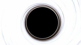 黑洞,空间畸变,反常现象,大弥撒,美国航空航天局装备的这象元 免版税库存照片