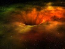 黑洞 免版税库存图片