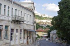 黑海沿海城市在保加利亚 图库摄影