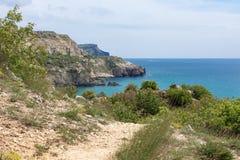 黑海海景 免版税库存图片