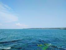 黑海,克里米亚 库存照片
