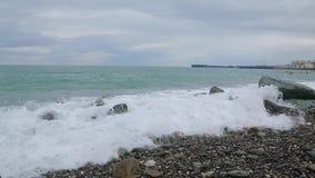 黑海012的波浪 影视素材