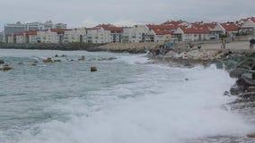 黑海013的波浪 影视素材