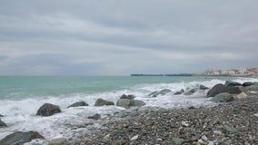 黑海014的波浪 股票视频