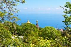 黑海 免版税库存照片